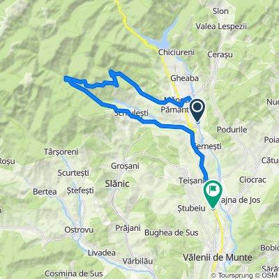 Unnamed Road, Izvoarele to DN1A 55, Vălenii de Munte