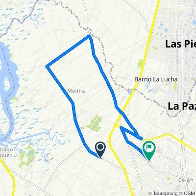 De Camino de la Redención 7656, Sección 09 a Guttemberg 6361, Montevideo