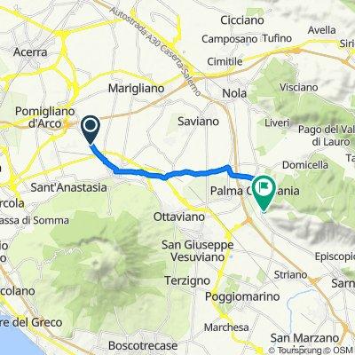 Da Somma vesuviana a Via Vecchia Sarno 141, Palma Campania