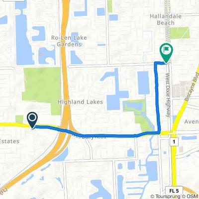 20450 NE 15th Ct, Miami to 2684–2698 SW 11th St, Miami