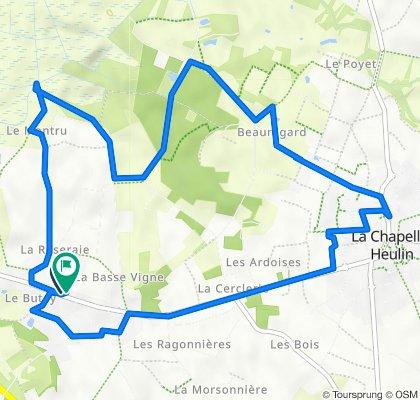 De 26 Route de Nantes, La Chapelle-Heulin à 22ter Route de Nantes, La Chapelle-Heulin