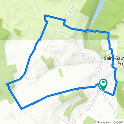 De 47 Rue d'Étrelles, Saint-Sauveur-sur-École à 47 Rue d'Étrelles, Saint-Sauveur-sur-École