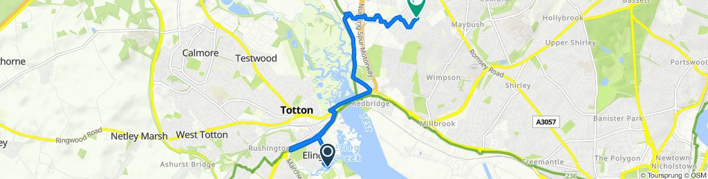 Eling Lane 122, Totton to Atherfield Road 60