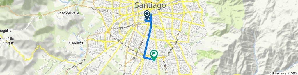 De Fábrica 1503, Santiago a Chacabuco 9571, San Ramón