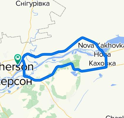 """100-мильний шосейний марафон """"Козацька миля"""". Версія 1.1"""