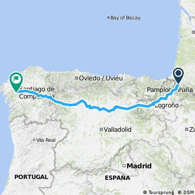 0013 Mariehamn - Santiago de Compostela Part 5. Spain