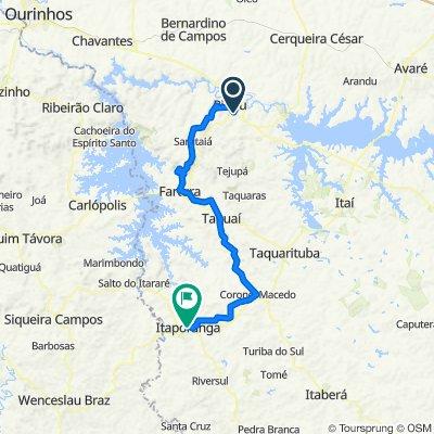 De SP-287 1014 a Avenida Dom Atanásio Merkle 811