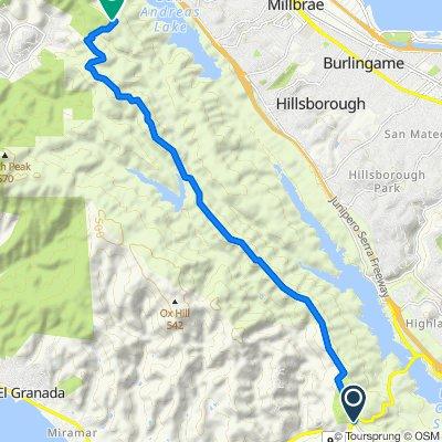 3. Bay Area Ridge Trail SF watershed proper