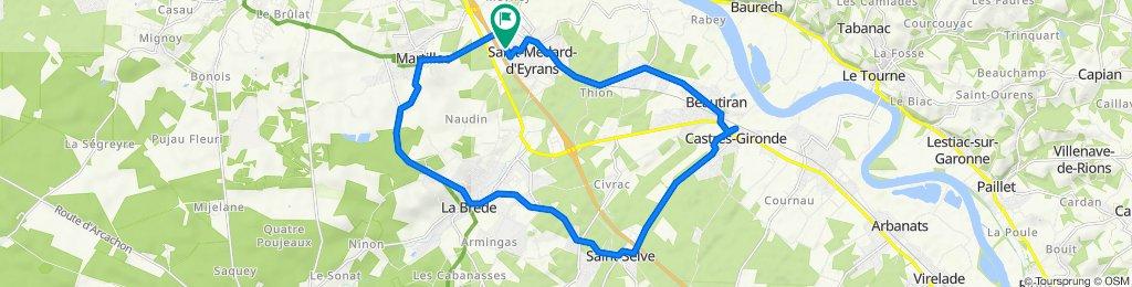 De 43 Rue Vincent Van Gogh, Saint-Médard-d'Eyrans à 43 Rue Vincent Van Gogh, Saint-Médard-d'Eyrans