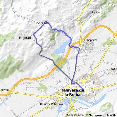 blucle final trampa de la Vuelta