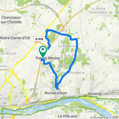 De 11 Rue de la Pinotière, Parçay-Meslay à 11bis Rue de la Pinotière, Parçay-Meslay