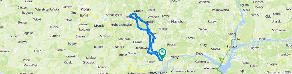 Nasielska 1A, Pomiechówek do Nasielska 1a, Pomiechówek