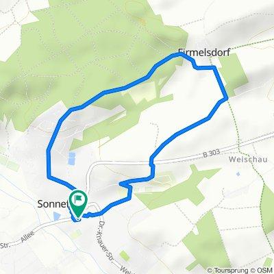 Martin-Luther-Straße 7, Sonnefeld nach Martin-Luther-Straße 7, Sonnefeld