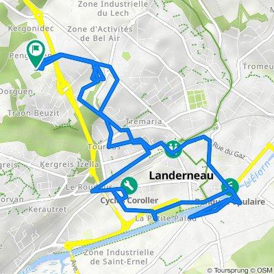 De Route de Penguelen 505, Landerneau à Route de Penguelen 505, Landerneau