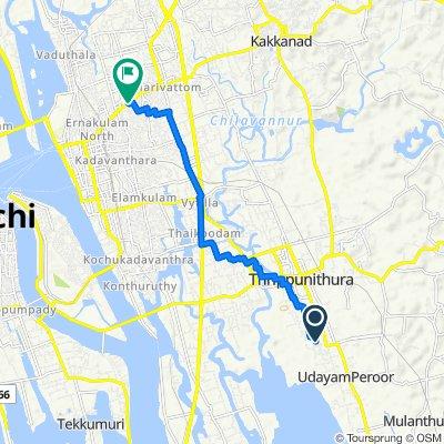 Karath Road, Ernakulam to Banerji Road, Ernakulam