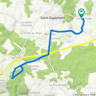 De Trevermel, Saint-Guyomard à Trevermel, Saint-Guyomard
