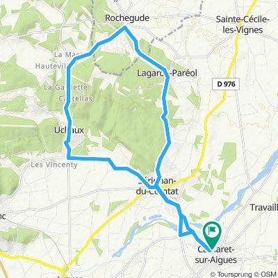 25 km uchaux
