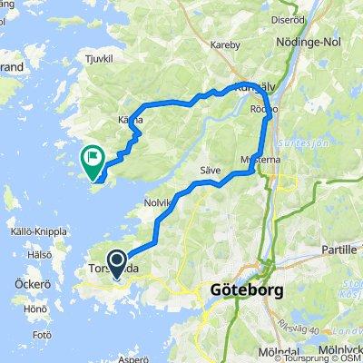 Flygledarevägen 77, Torslanda to Stora Överön 575, Kungälv