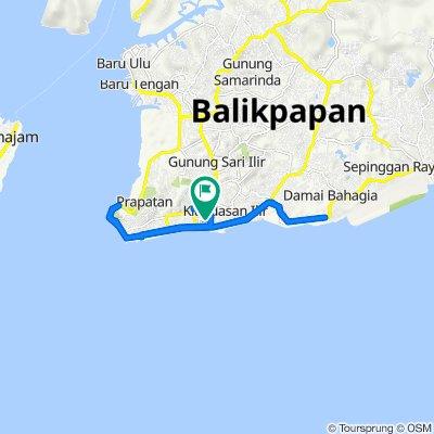 Jalan APT Pranoto 7a, Kecamatan Balikpapan Tengah to Jalan APT Pranoto 7a, Kecamatan Balikpapan Tengah