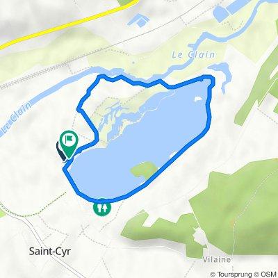 De Route de Pleumartin, Saint-Cyr à Route de Pleumartin, Saint-Cyr