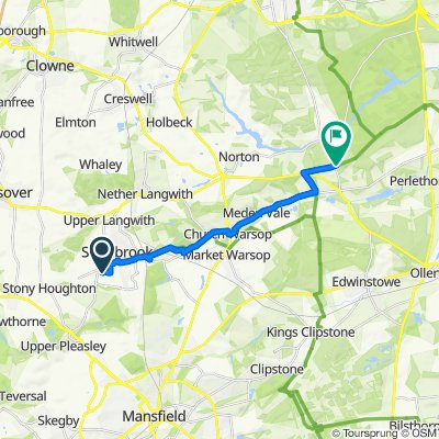 15 Lavender Close, Mansfield to Ollerton Road, Carburton, Worksop