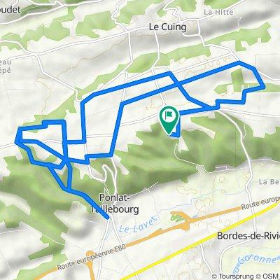 Villeneuve-de-Rivière Cycling