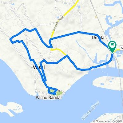 21.2k Naigaon West - Vasai Fort - Devtalav - Umela