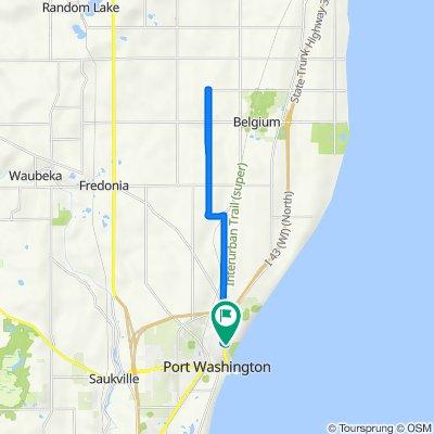 Rode 17.43 mi on 6/3/16