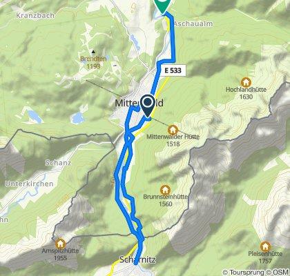 Isarradweg 2.Etappe 3.Teil Radtour