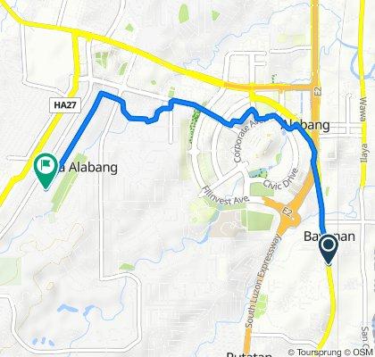 Asian Highway 26 51, Muntinlupa to Lauan 145, Muntinlupa