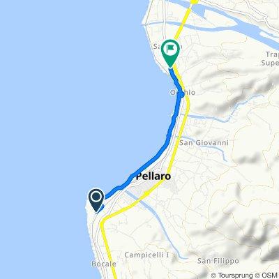 Da Via Bosco 36–40, Reggio di Calabria a Tratto Terza di Via Nazionale 66, Reggio di Calabria