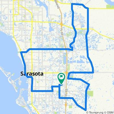 Triathlon Final Training Route