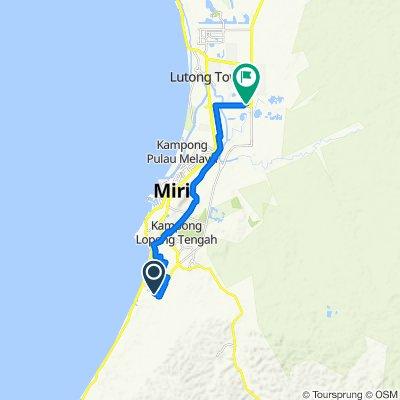 Lorong Taman Delight 2 6764, Miri to Unnamed Road, Miri