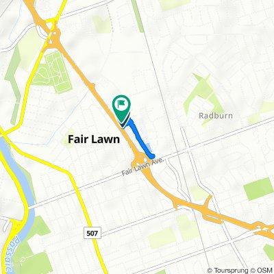 Langan Court 22, Fair Lawn to Hoitsma Court 31, Fair Lawn