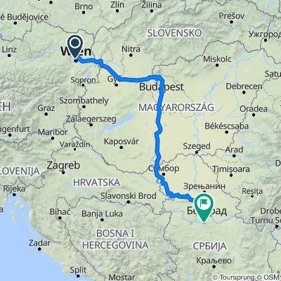 Wien- Belgrade 02.12.2020