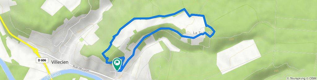 De 6 Chemin de la Ferrante, Saint-Aubin-sur-Yonne à 4 Chemin de la Ferrante, Saint-Aubin-sur-Yonne