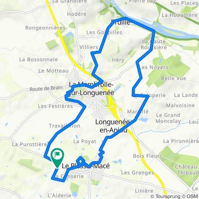 De 35 Rue de Bretagne, Le Plessis-Macé à 35 Rue de Bretagne, La Meignanne