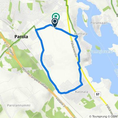 Penttiläntie 2, Hattula naar Elonkuja 3, Hattula