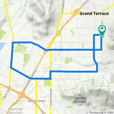 grand terrace quick workout