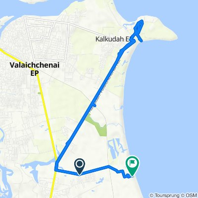 Route from Unnamed Road