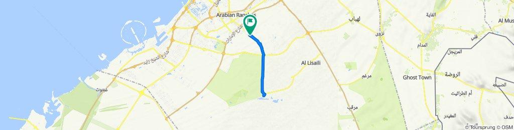 Al Qudra Road to Al Qudra Road