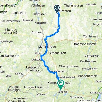 Oberrieder Weiher - Sulzberger See 17.9.2020