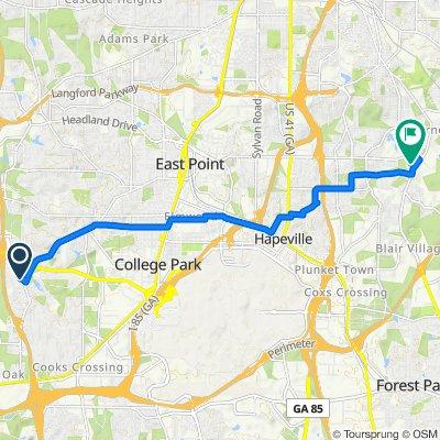 2865 Laurel Ridge Cir, East Point to 2778 Vineyards Dr SE, Atlanta