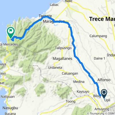 Relaxed route in Maragondon