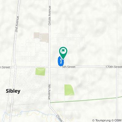 2nd Street Northeast 1025, Sibley to 2nd Street Northeast 1025, Sibley