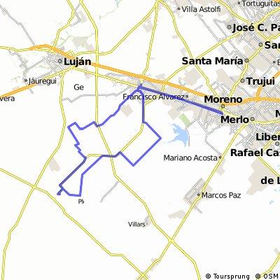 Moreno - General Rodríguez - La Choza - Moreno