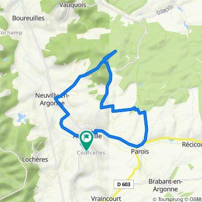 De 5 Chemin de la Lame, Aubréville à 5 Chemin de la Lame, Aubréville