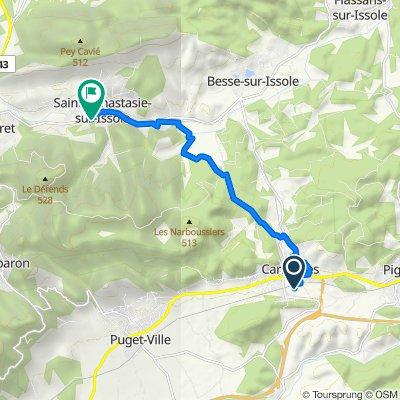 De 317 Impasse des Maisons Neuves, Carnoules à D15, Sainte-Anastasie-sur-Issole