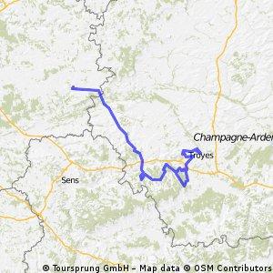 Provins - Troyes
