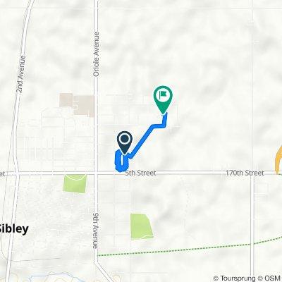 2nd Street Northeast 1025, Sibley to Oak Drive 418, Sibley